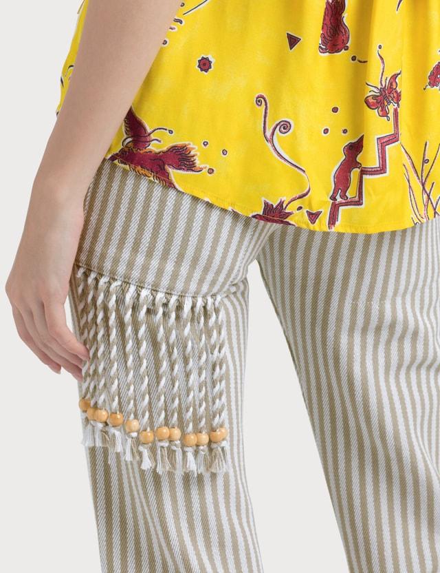Loewe Paula Stripes 5 Pockets Pants