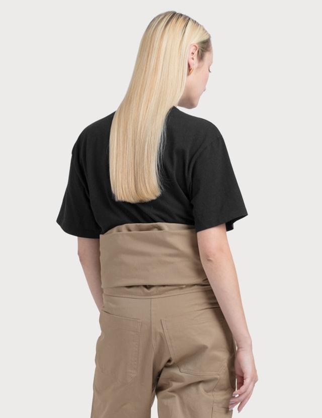 Maison Kitsune Black Fox Short Sleeve T-shirt