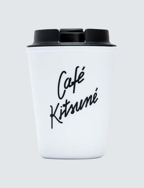 메종 키츠네 <카페 키츠네 컬렉션> 텀블러 화이트 Maison Kitsune Cafe Kitsune Coffee Tumbler