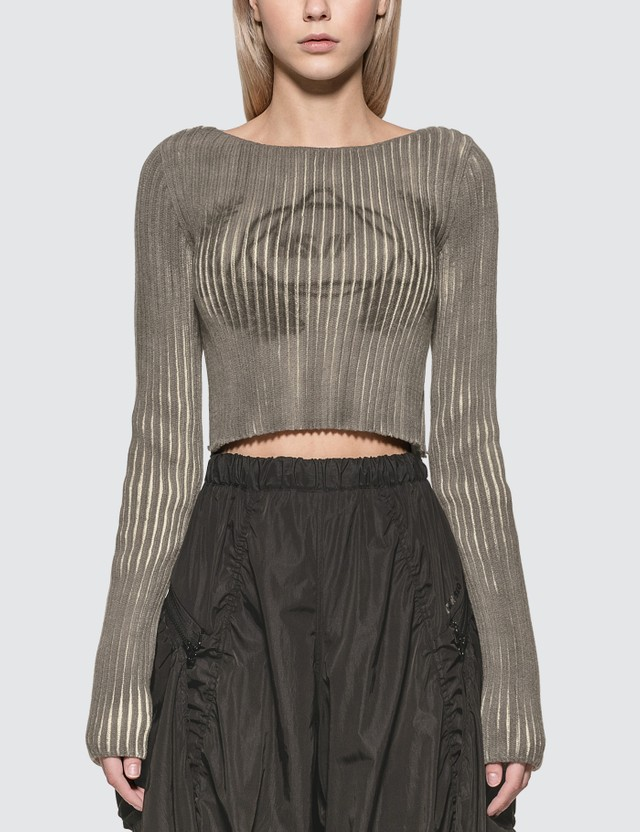 Hyein Seo Cropped Knit Top