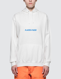Places + Faces Belly Logo Hoodie