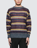 Prada Stripe Mohair Knit Sweater Picture
