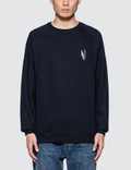 Norse Projects Ketel Crew Multi N Logo Sweatshirt Picture