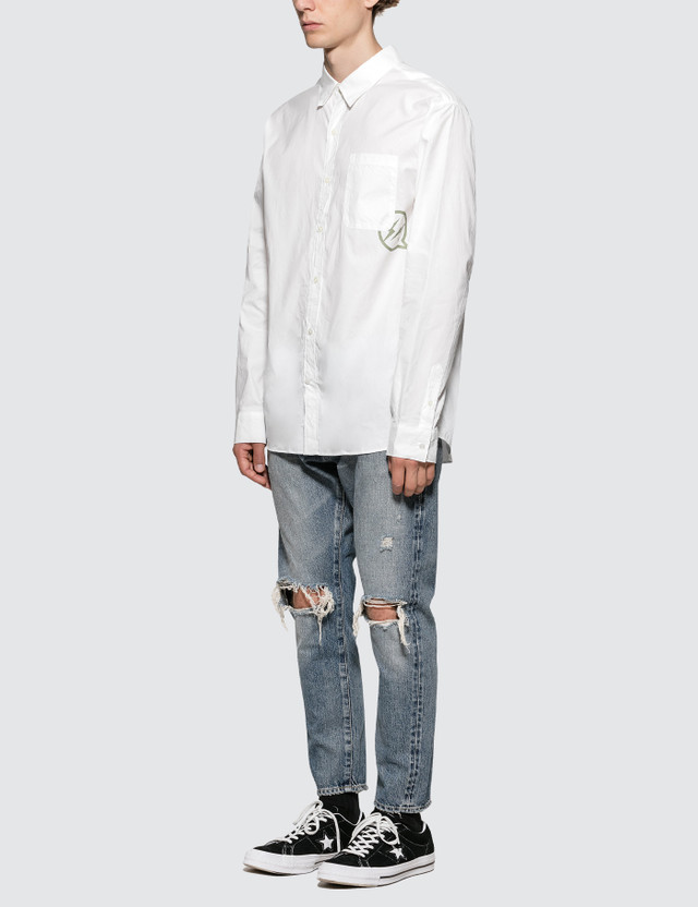 Denim By Vanquish & Fragment Icon Broadcloth L/S Shirt
