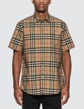 Burberry Vintage Check Short Sleeve Shirt Picutre