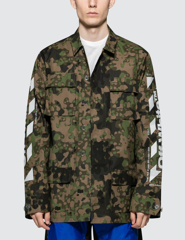 ca99367eb2e1 Off-White Diag Camo Field Jacket ...