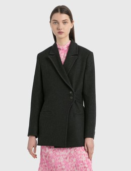 Ganni Outerwear Wool Jacket