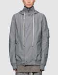 Rick Owens Drkshdw Hooded Short Bomber Picture