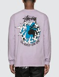 Stussy One Love Pigment Dyed Long Sleeve T-Shirt Picutre