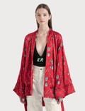 Kirin All Over Masks Fluid Kimono Picture