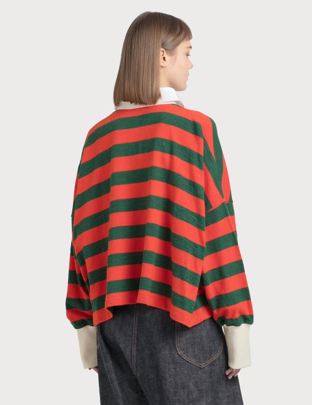 Loewe Stripe Long Sleeve Polo