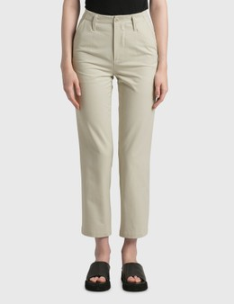 Nothing Written Heavy Cotton Straight Fit Pants