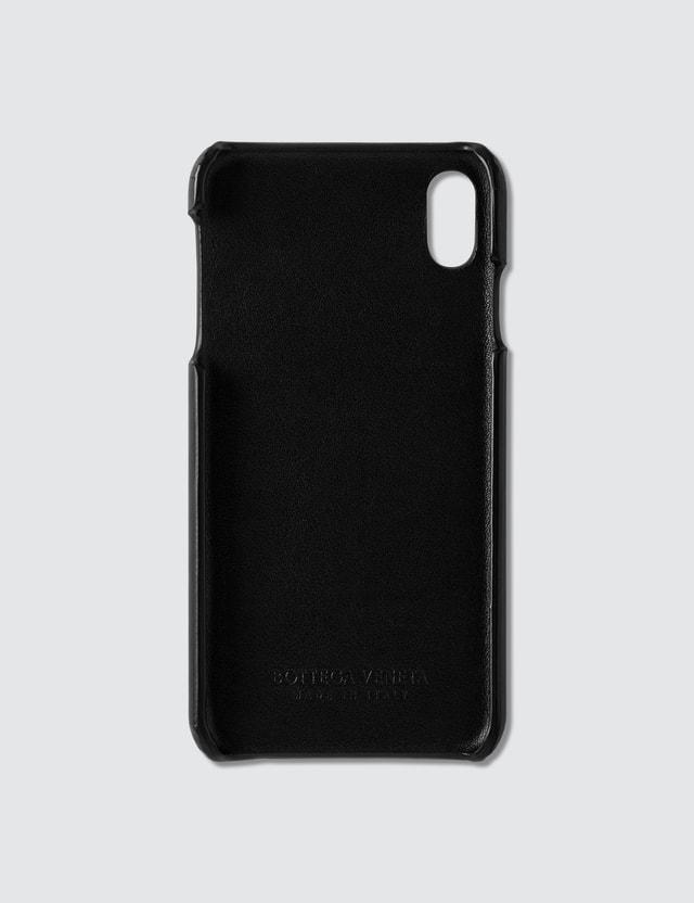Bottega Veneta iPhone Xs Max Case Nero Unisex