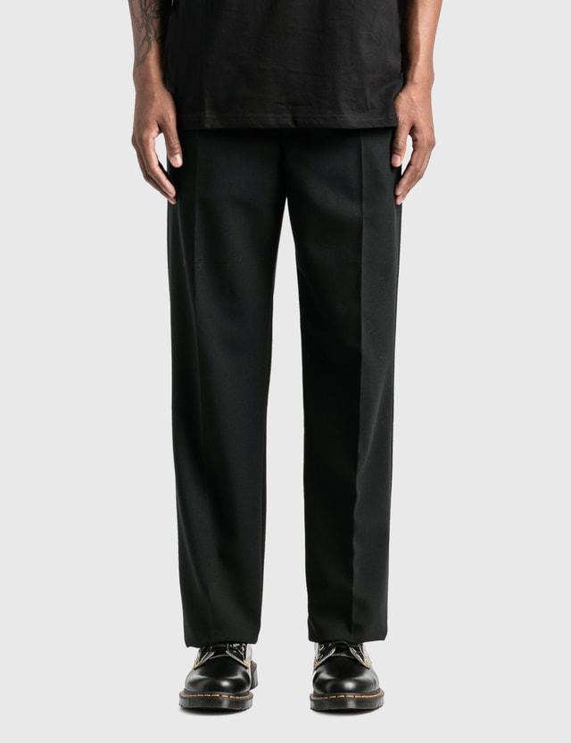 Raf Simons Wide Fit Pants Black Men