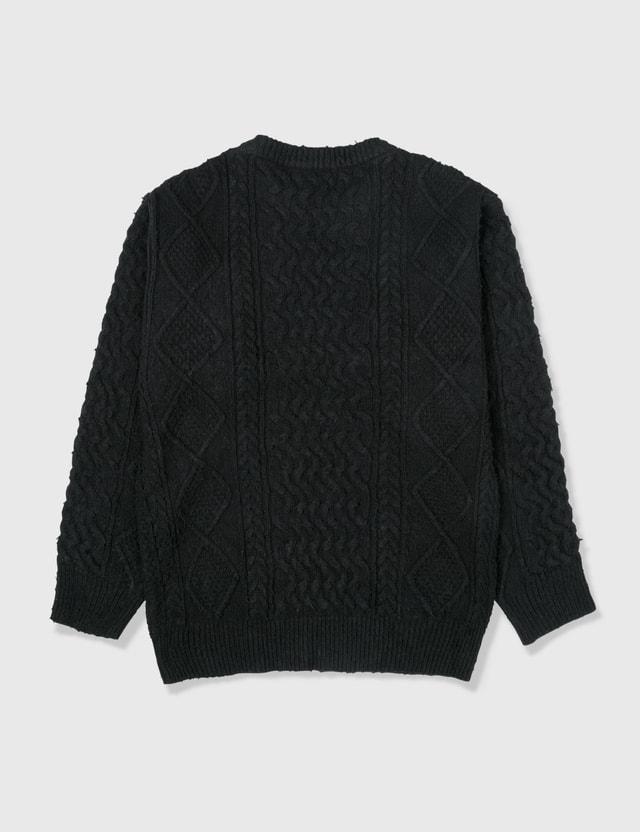 Yeezy Yeezy Season 5 Cable Knitwear Black Archives