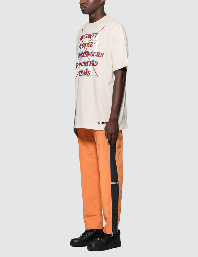 Heron Preston HBX Exclusive Prohibited Items S/S T-Shirt