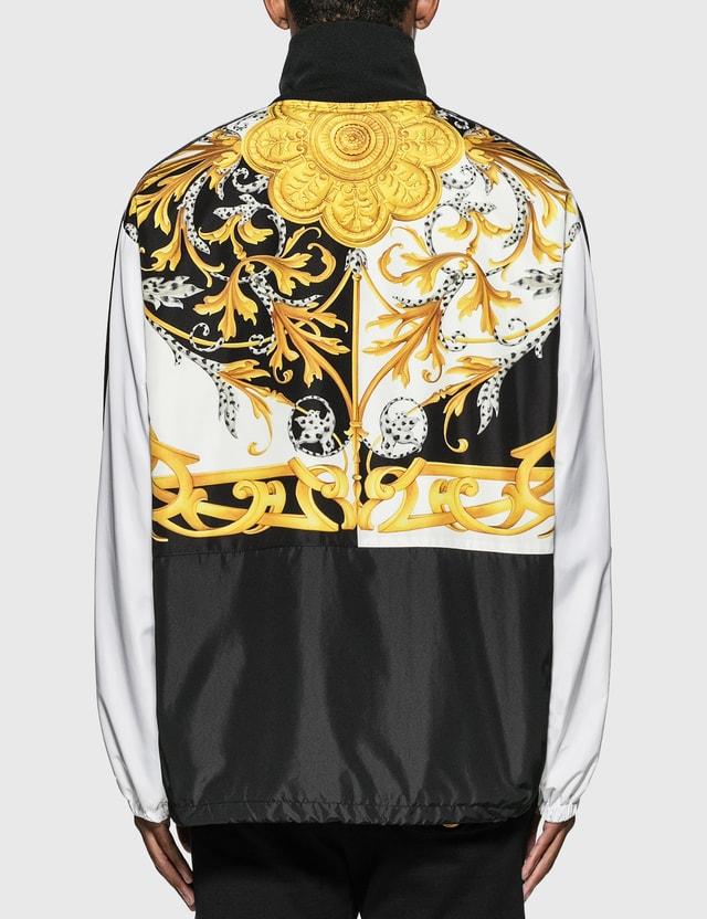 Versace Barocco Acanthus Print Jacket Bianco-nero-oro Men
