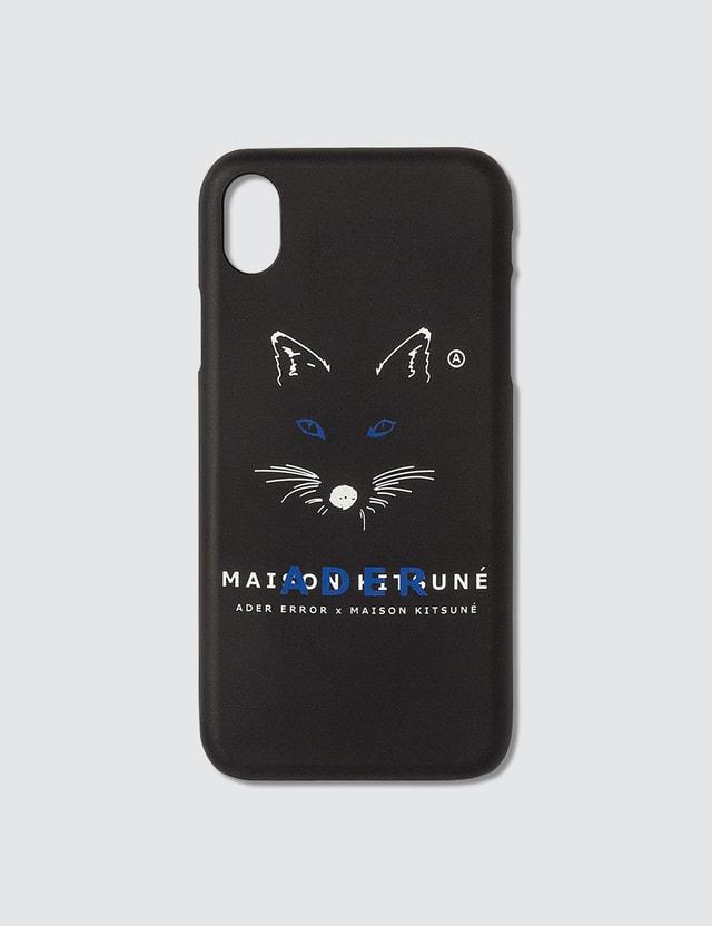 Maison Kitsune Ader Error x Maison Kitsune Fox Mustache Kitsune Case