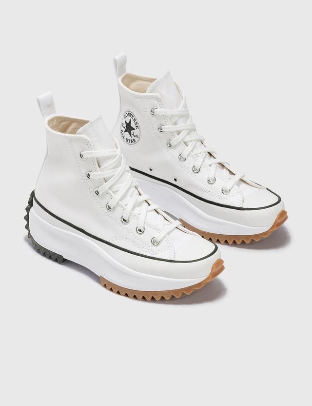 Converse Run Star Hike Hi White/black/gum Women