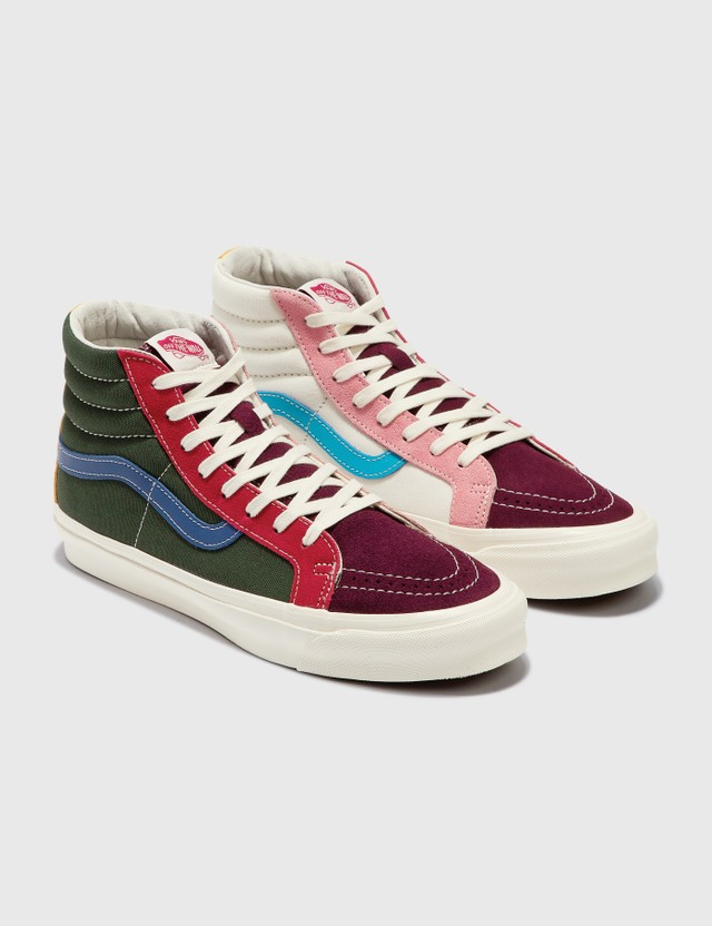 Vans OG SK8-Hi LX (suede/canvas) Multi Men