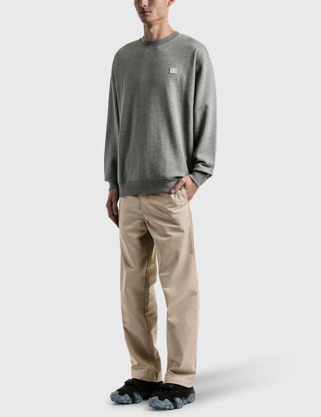 Acne Studios Forba Face Sweatshirt Grey Men