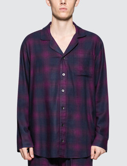 Calvin Klein Underwear Flannel L/S Button Down Pajamas