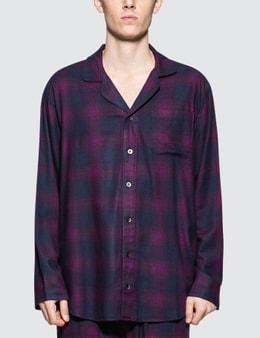 Calvin Klein Underwear Flannel L/S Button Down Pajamas