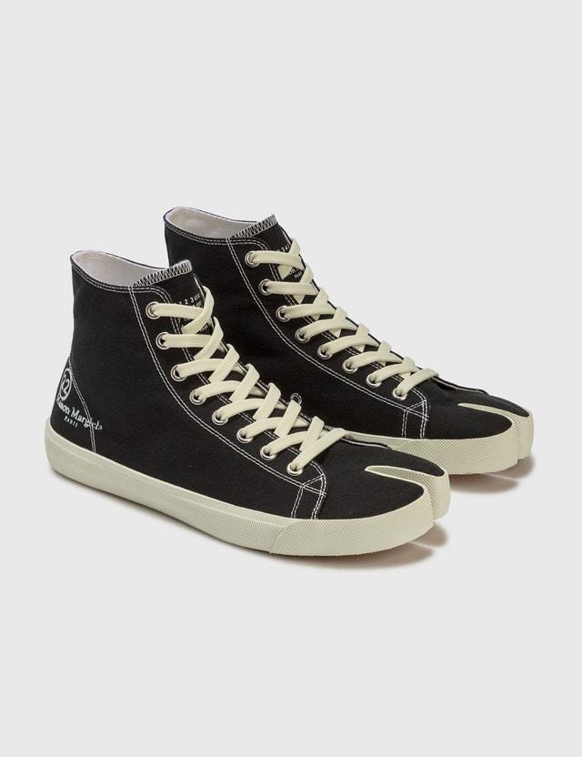 Maison Margiela Tabi High Top Sneaker Black Men