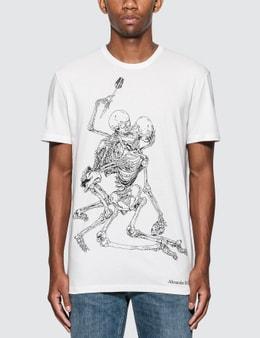 Alexander McQueen Skeletons Print T-Shirt