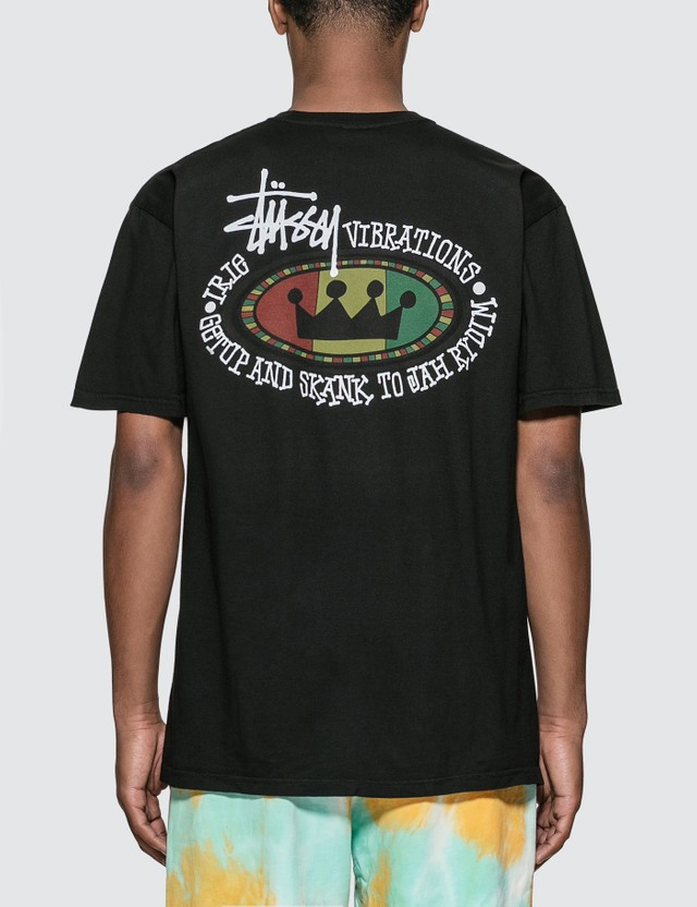Stussy Rasta Oval Pigment Dyed T-Shirt