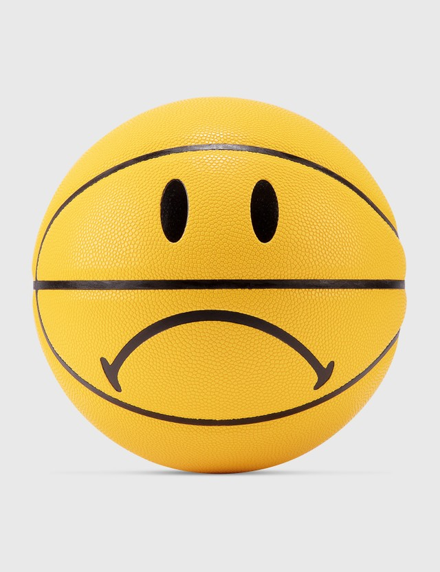 Chinatown Market Smiley Frown Basketball Yellow Unisex