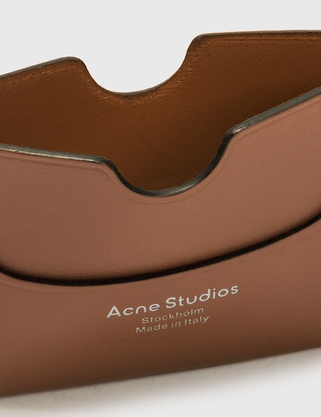 Acne Studios Elmas S Card Holder Almond Brown Women