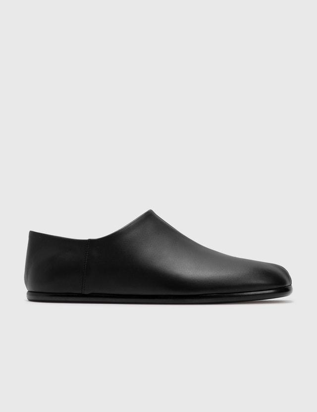 Maison Margiela Slip-on Tabi Shoes Black Men
