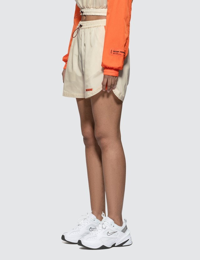 Heron Preston Nylon Shorts Nude Women