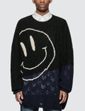 Raf Simons Oversized Smiley Sweater Picture