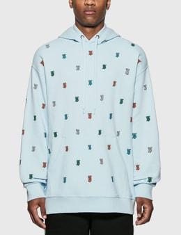 Burberry Monogram Motif Cotton Hoodie