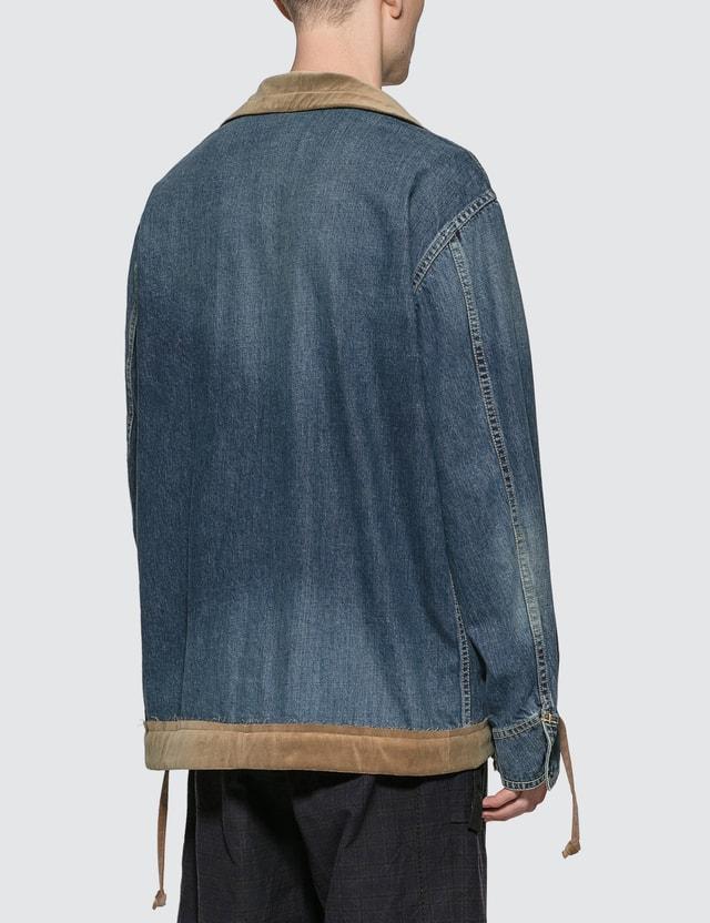 Sacai Denim Jacket Blue 401 Men
