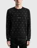 Saint Laurent Saint Laurent Logo Sweatshirt With Eyelets Picture