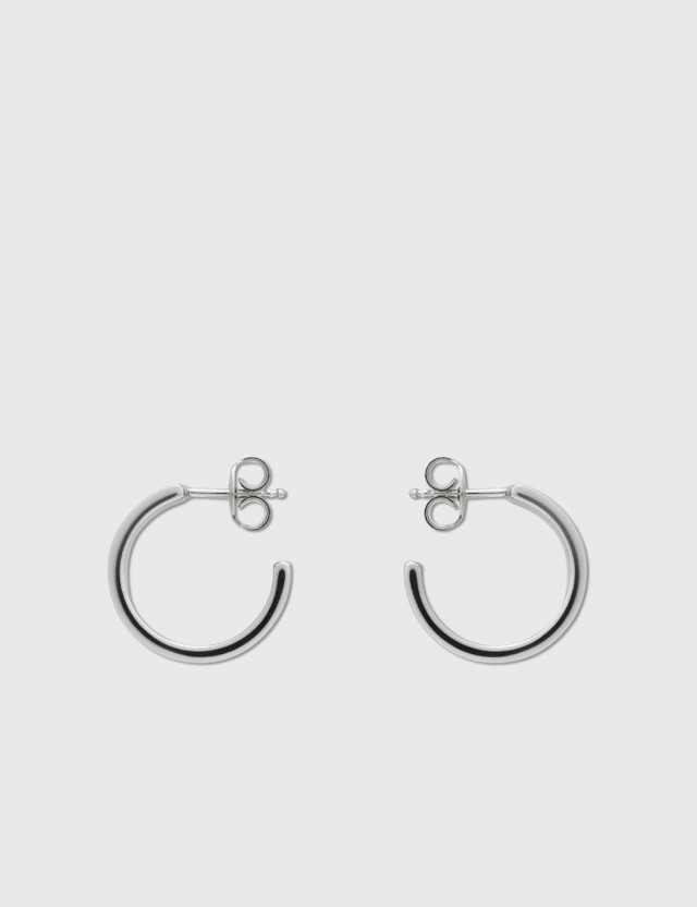 MM6 Maison Margiela MM6 Safety Pin Earring Silver Women