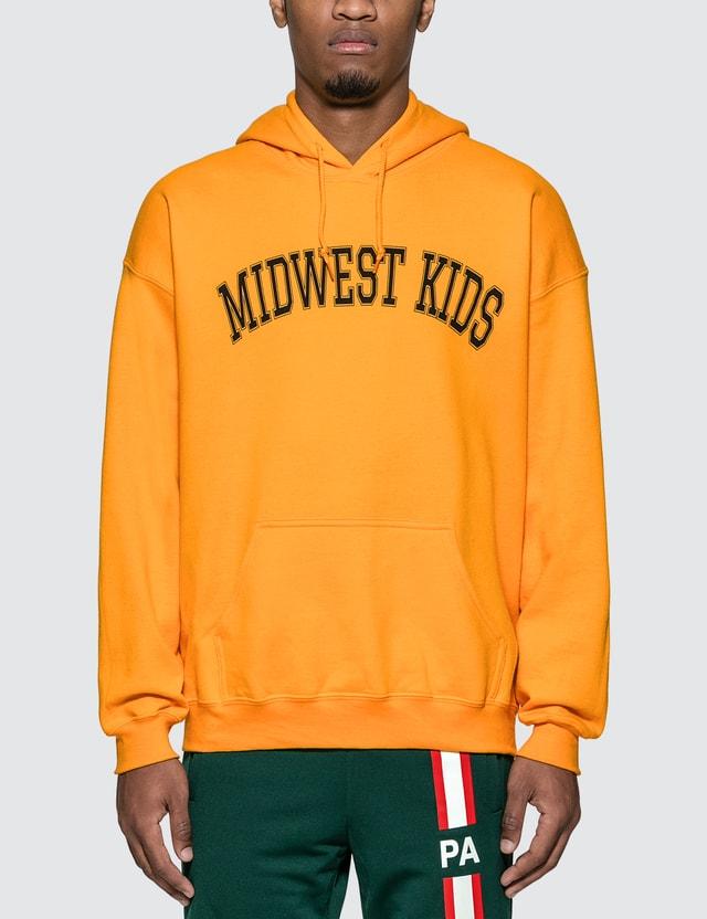 Midwest Kids Arch Logo Hoodie =e25 Men