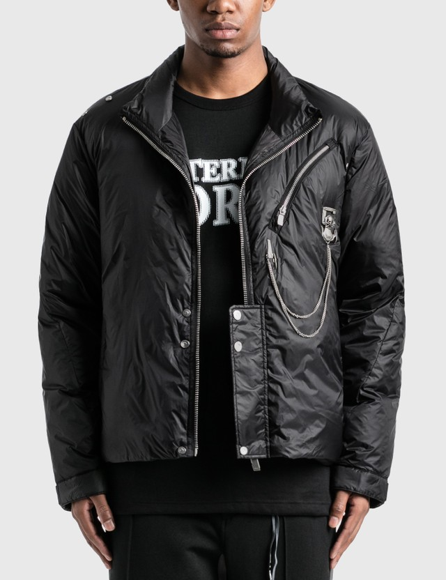 C2H4 Los Angeles C2H4® x Mastermind Japan Seamless Down Jacket Black Men