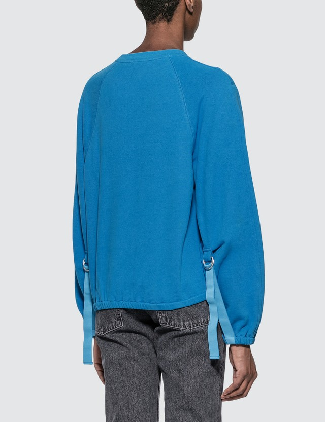 Helmut Lang Vintage Terry Sweatshirt Balloon Women
