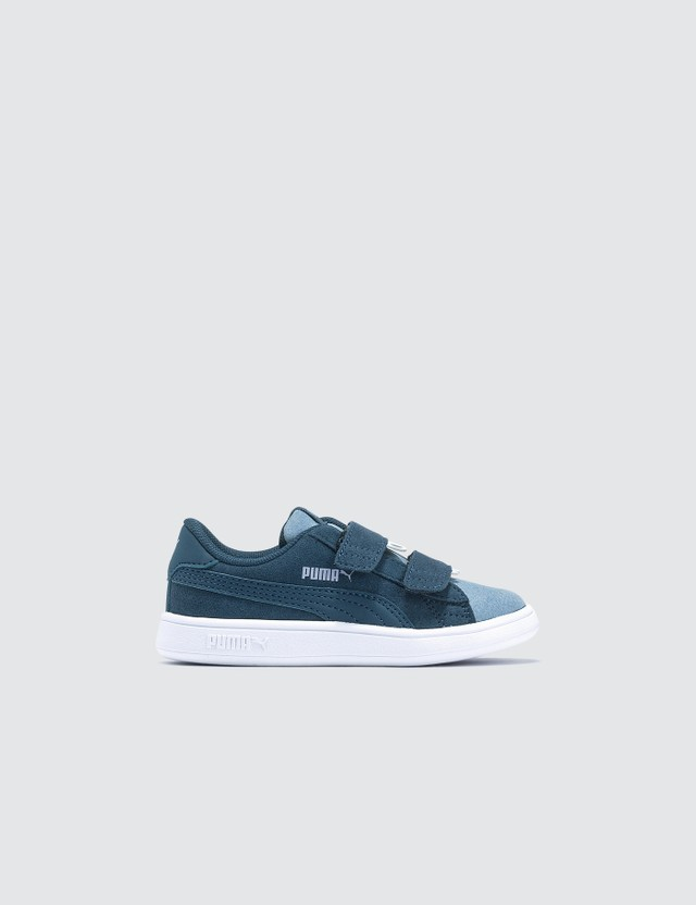 Puma Infants Smash V2 Monster V (Infants) Sea-faded Denim Kids