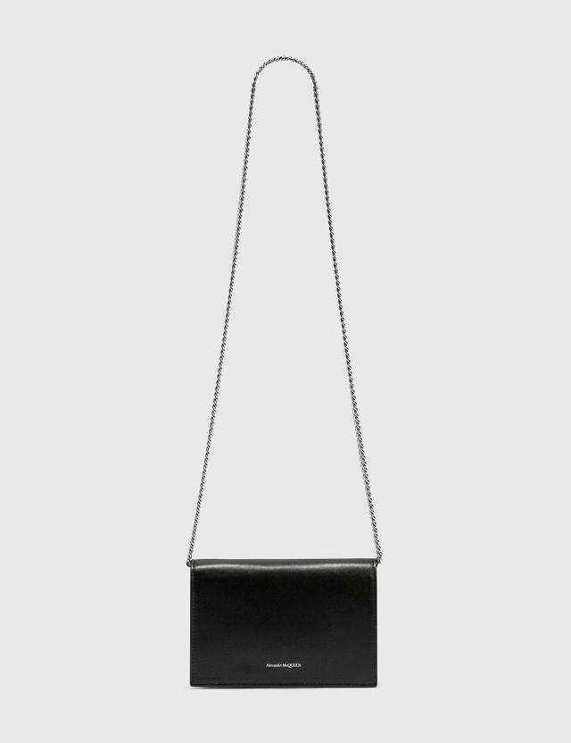 Alexander McQueen Skull Mini Bag With Prints Black/multi Women