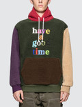 Have A Good Time Colorful Fleece Pullover Hoodie Picture