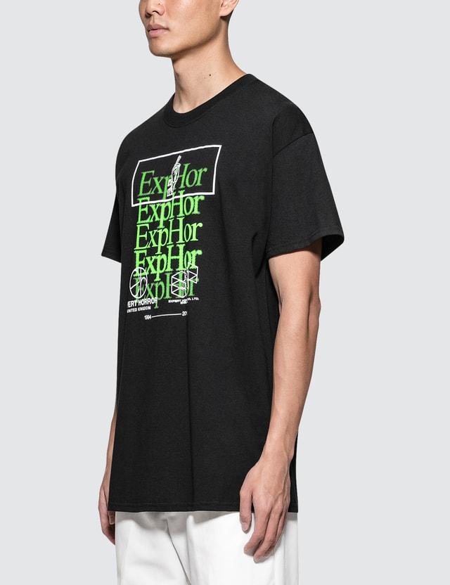 Expert Horror Fade Logo Overprint T-Shirt