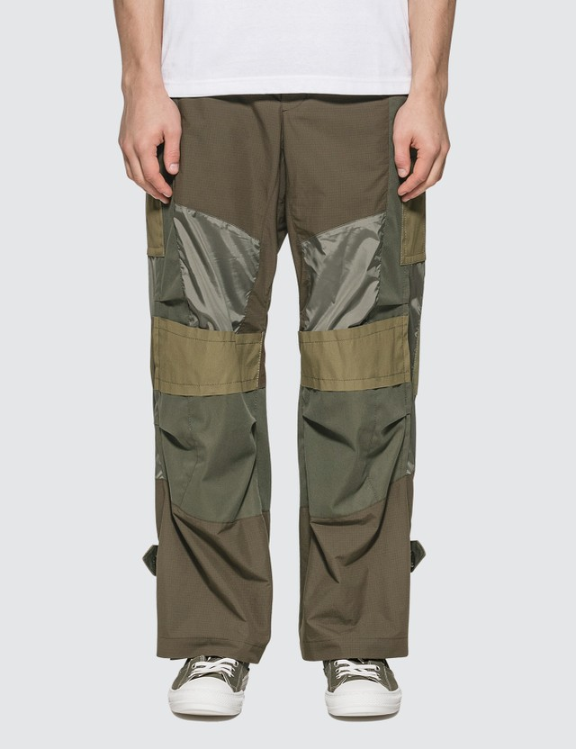 Sacai Fabric Combo Pants