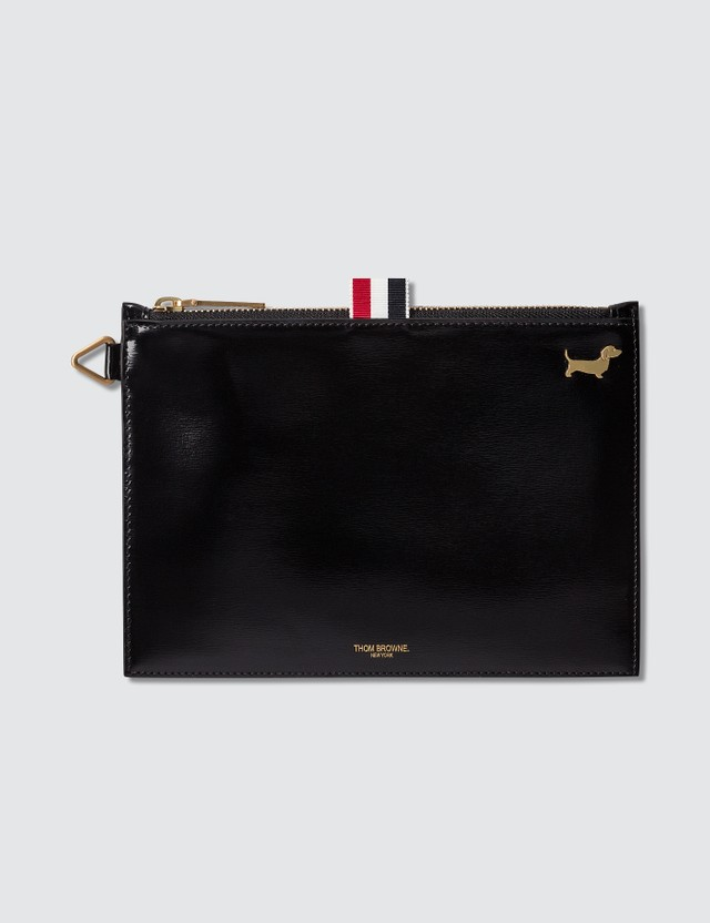 Thom Browne Large Calf Leather Coin Purse