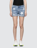 Stella McCartney Star Denim Shorts Picture