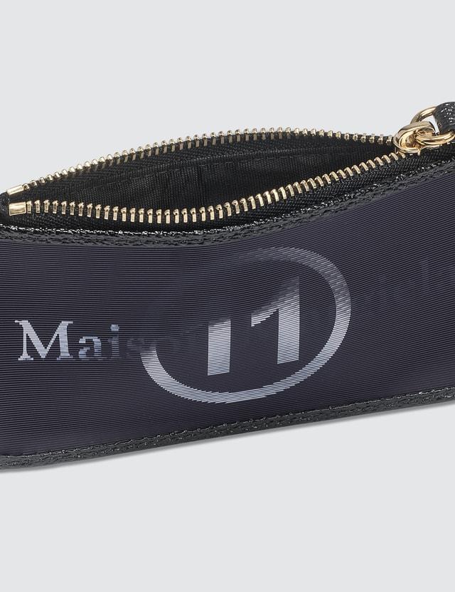 Maison Margiela 3D Logo Zip Card Hodler